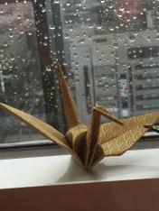 Claire's favorite paper crane