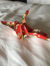 Lauren's favorite paper crane